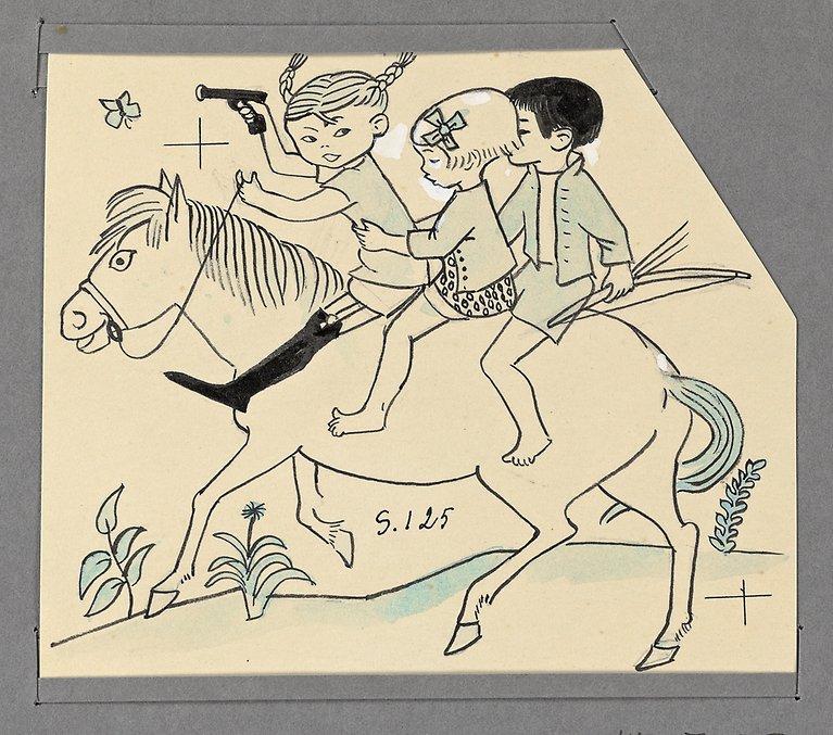Sex karikatyrer på engelska